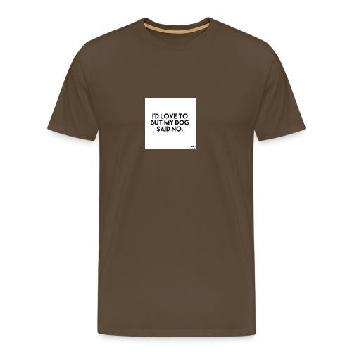 Big Boss said no - Men's Premium T-Shirt