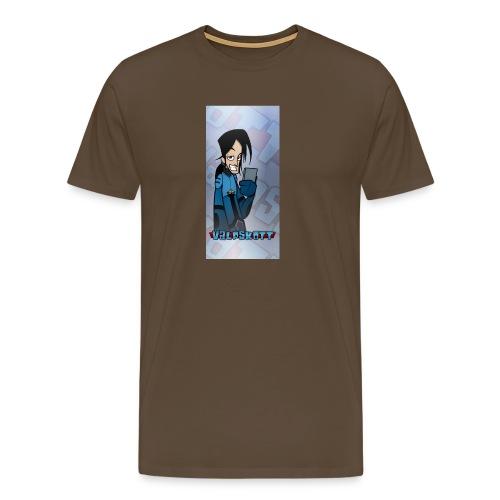 Valp Mobilskal png - Premium-T-shirt herr