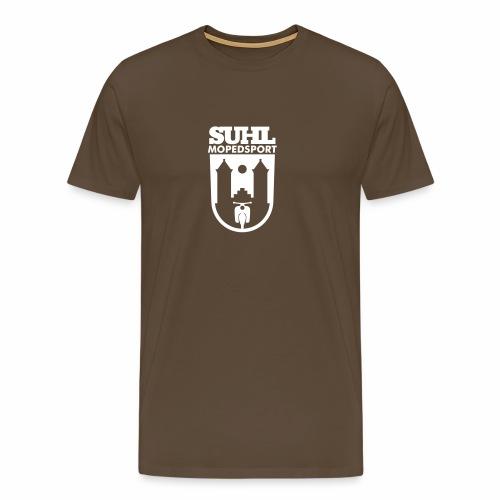 Suhl Mopedsport Schwalbe Logo - Men's Premium T-Shirt