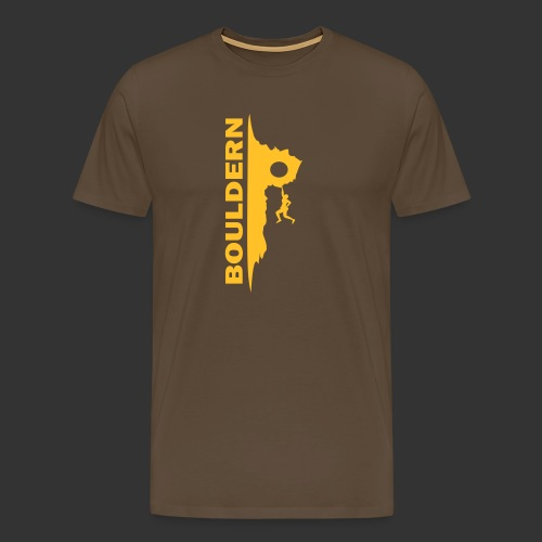 Bouldern - Männer Premium T-Shirt