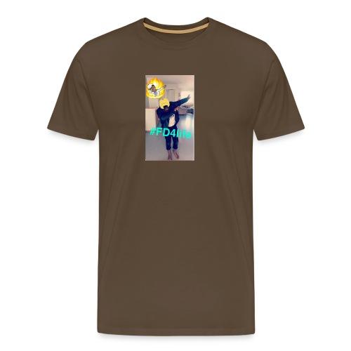 King/Ngoy - Premium T-skjorte for menn