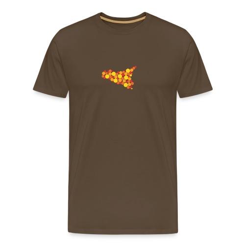 logo sicilia piccolo - Maglietta Premium da uomo
