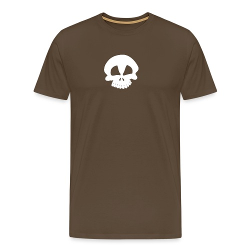 skull chris white - Men's Premium T-Shirt