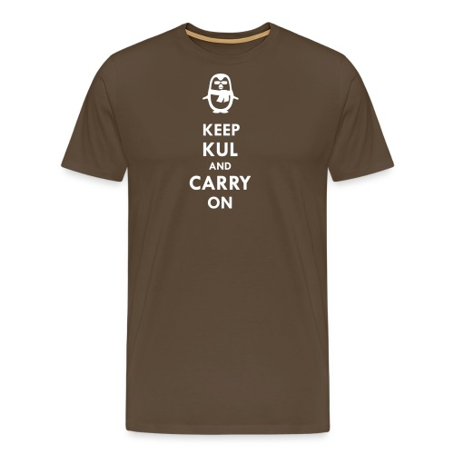 Keep KUL and carry on Bua - Männer Premium T-Shirt