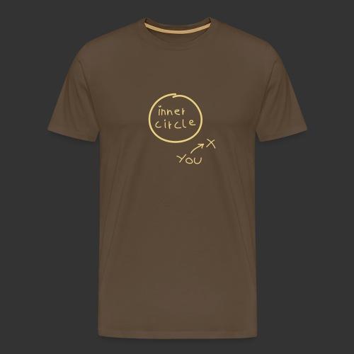 Inner Circle Handschrift - Männer Premium T-Shirt