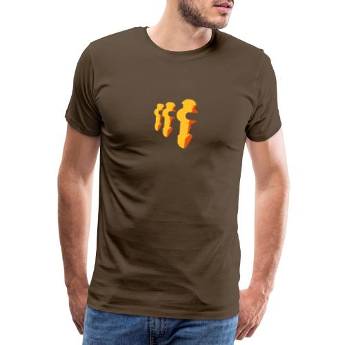 Kickerfiguren - Kickershirt - Männer Premium T-Shirt