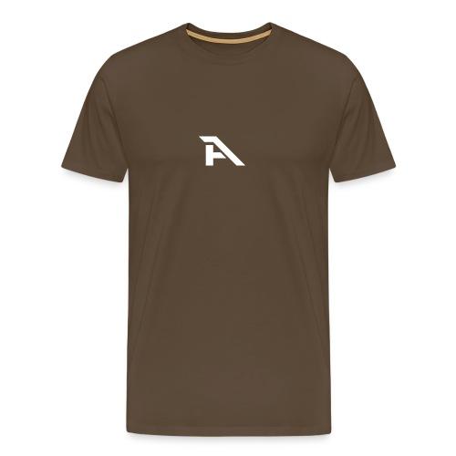 Aura Logo-(P. & White) - Maglietta Premium da uomo
