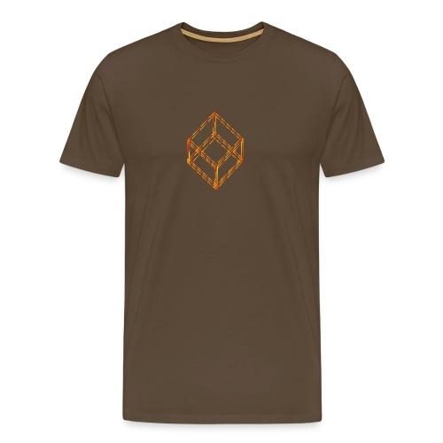 Verrückter Würfel - Männer Premium T-Shirt