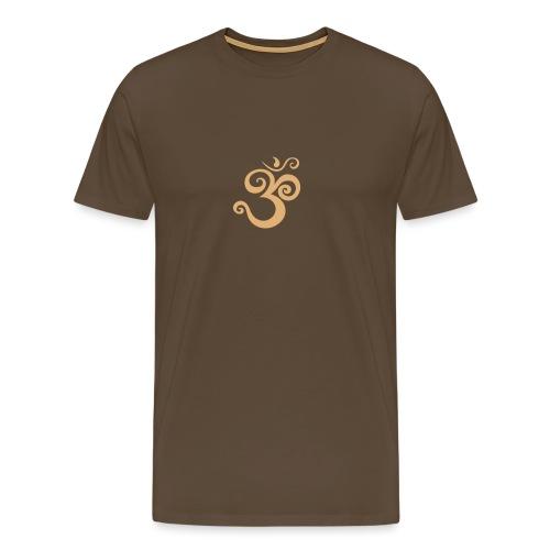 om curl - Männer Premium T-Shirt