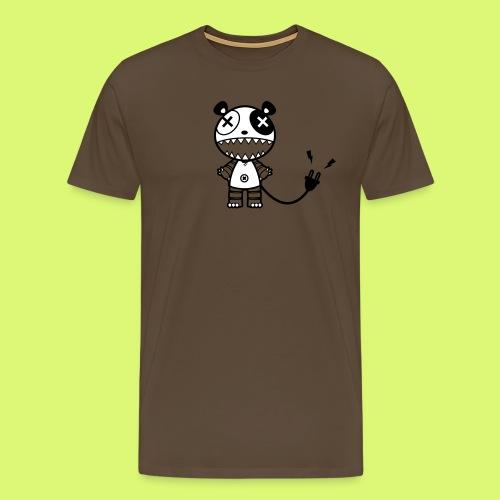Mecha-Panda 2 - Männer Premium T-Shirt