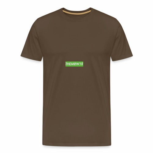 OG EXCLUSIVE W1ll logo - Men's Premium T-Shirt