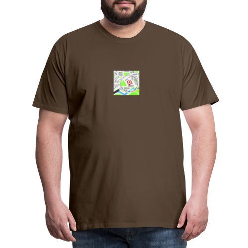 grunddata - Herre premium T-shirt