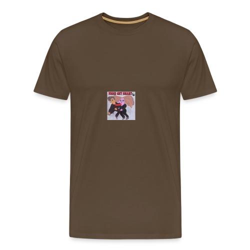 niggi get smart by superlisamcb - Männer Premium T-Shirt