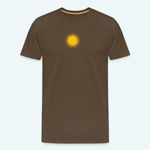 PARMA SUN - Herre premium T-shirt