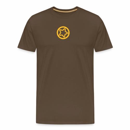 Kreis und Stern - Männer Premium T-Shirt