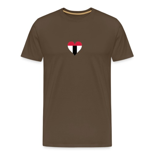 I love Baden tricolor - Männer Premium T-Shirt