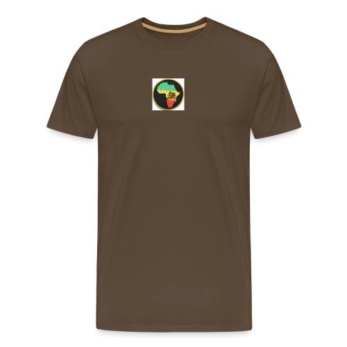 Rasta Lion - Premium-T-shirt herr