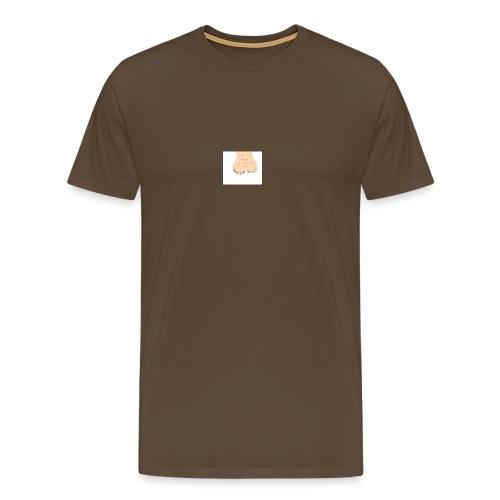 Albins pungsäck - Premium-T-shirt herr