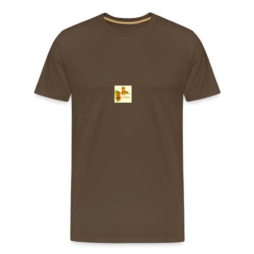 carte de la guadeloupe en applique 5 tailles - T-shirt Premium Homme