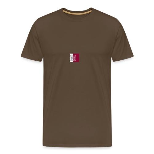 NC grey polo Nijmegen - Mannen Premium T-shirt