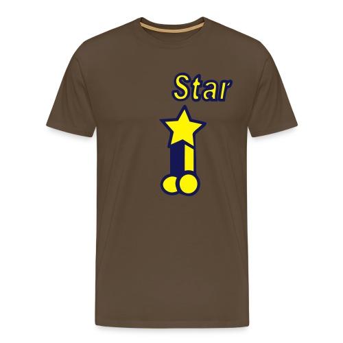Pornstar! - Men's Premium T-Shirt