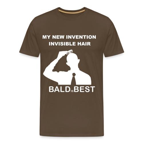 INVISIBLE HAIR - Männer Premium T-Shirt