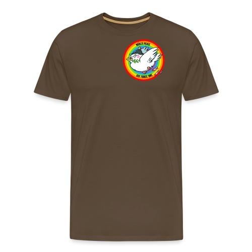 Wörld Peace Air Force One Pullover & Hoodies - Männer Premium T-Shirt