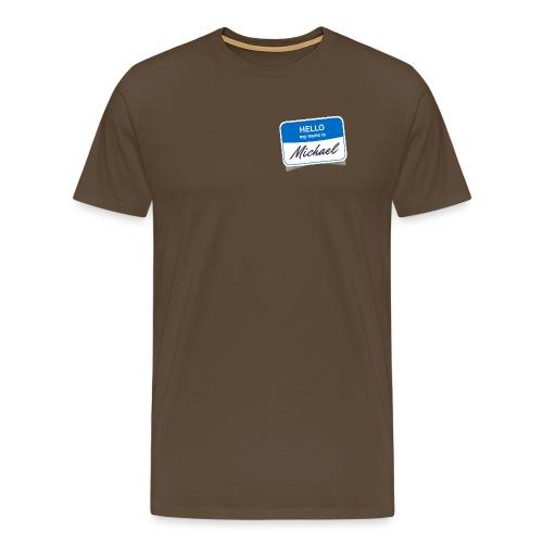 micha1 - Männer Premium T-Shirt