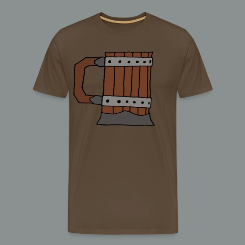chope, peinte, bière, taverne, geek, jeu de rôle - T-shirt Premium Homme