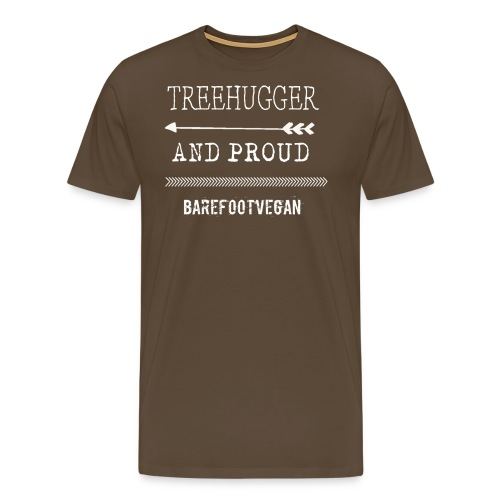 treehugger_white - Men's Premium T-Shirt