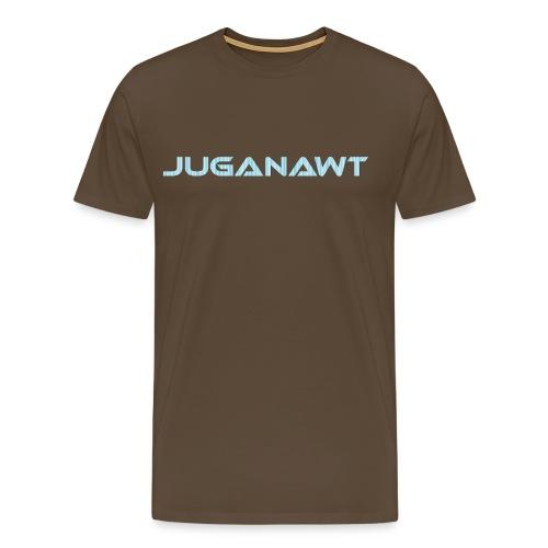 Juganawt Text 4k Res - Men's Premium T-Shirt