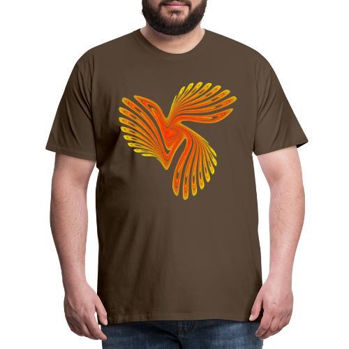 Vogel Paradiesvogel Kakadu Ikarus Chaos 4314aut - Männer Premium T-Shirt