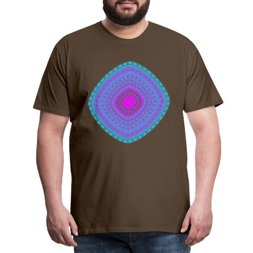 cheerful blue diamond 5400 cool poster - Men's Premium T-Shirt