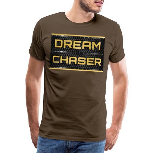 DREAM CHASER Gold - Mannen Premium T-shirt