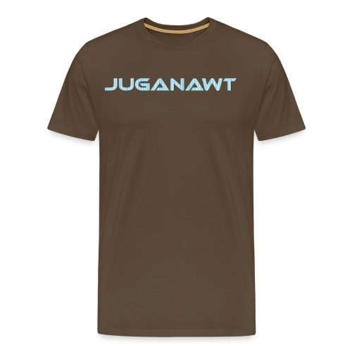 Juganawt Text 4k Res - Men's Premium T-Shirt