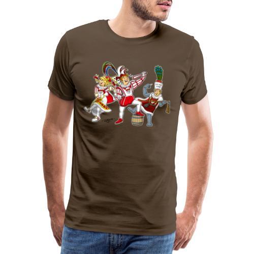 Köln Dreigestirn - Männer Premium T-Shirt