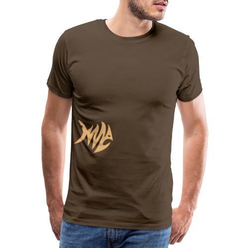 Zickzack Fisch - Männer Premium T-Shirt