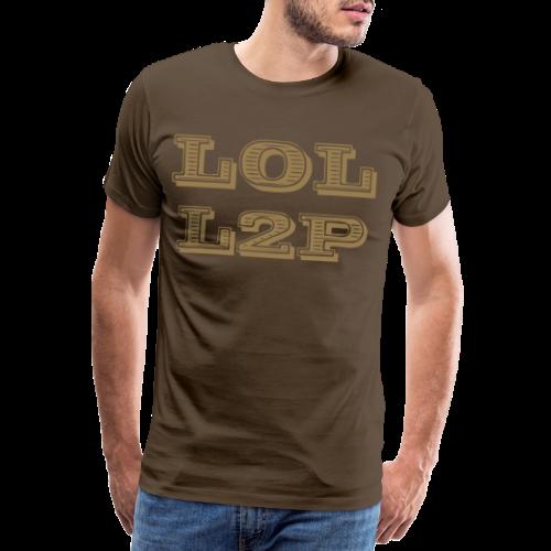 LOL L2P - Männer Premium T-Shirt