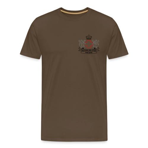 logo zwart PNG - Mannen Premium T-shirt