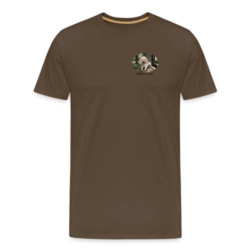Engblom's jakt (Eichel) - Premium-T-shirt herr