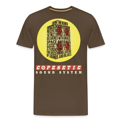 copesetic speaker logo png - Men's Premium T-Shirt