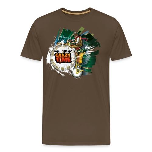 teeshirt TM blanc png - T-shirt Premium Homme