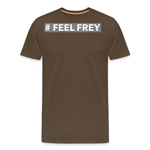 FEEL Frey LOGO grey - Männer Premium T-Shirt