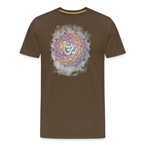 Colorful Mandala Aum - Men's Premium T-Shirt