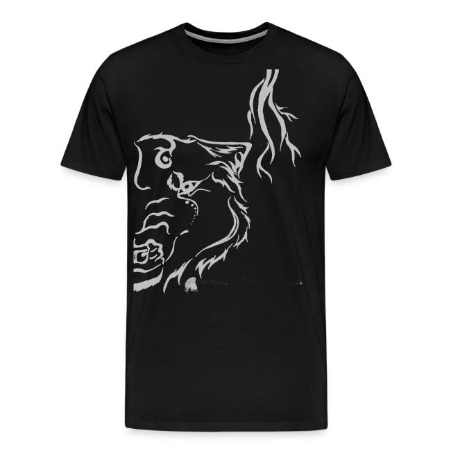 Silver Thunder Wolf Tribal