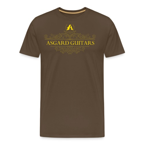 AGpaitakoukero yellow gold - Miesten premium t-paita