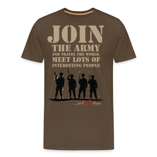 Join the army LIGHT - Koszulka męska Premium