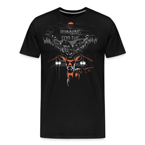runningfortheheadlights2 - Herre premium T-shirt