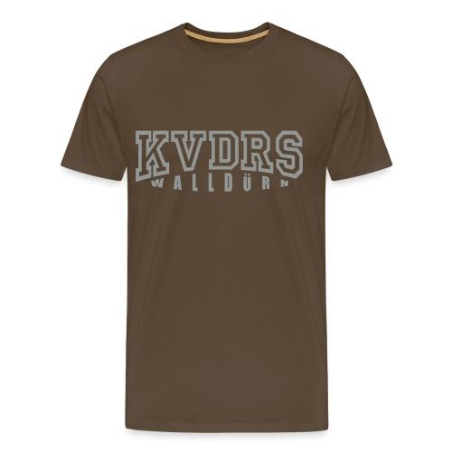 kvdrsLogo groß - Männer Premium T-Shirt
