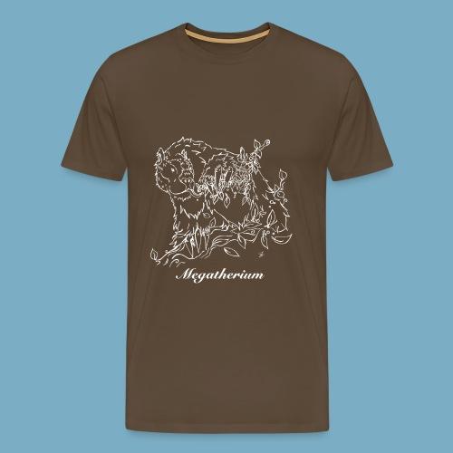 Faultier shirt woman - Männer Premium T-Shirt